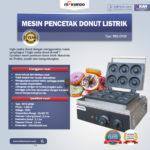 Jual Mesin Pencetak Donut Listrik MKS-DN50 di Palembang