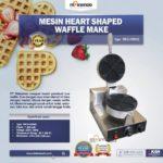 Jual Mesin Heart Shaped Waffle Maker (MKS-HSW01) di Palembang