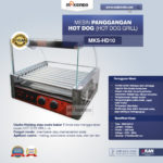 Jual Mesin Panggangan Hot Dog (Hot Dog Grill) MKS-HD10 di Palembang