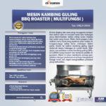 Jual Mesin Kambing Guling BBQ Roaster (GRILLO-LMB44) di Palembang