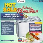 HOT Sale Mesin Pembuat Egg Roll (Listrik) di Palembang