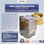 Jual Mesin Perajang Keripik Kentang dan French Fries MKS-280 di Palembang
