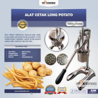 Jual Alat Cetak Long Potato MKS-LPCT50 di Palembang