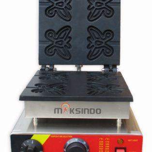 Jual Mesin Waffle Maker Bentuk Kupu-Kupu (Butterfly) MKS-BFLYW23 di Mataram