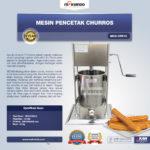 Jual Mesin Pencetak Churros MKS-CRS10 di Palembang