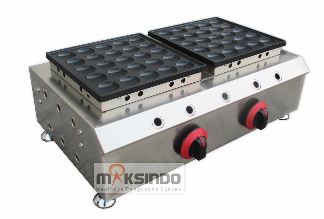 Jual Mini Pancake Poffertjes Gas 50 Lubang MKS-MPC50 di Palembang