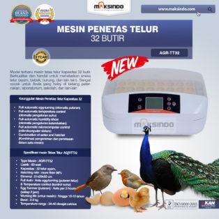 Jual Mesin Penetas Telur 32 Butir (AGR-TT32) di Palembang