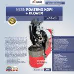 Jual Mesin Roasting Kopi + Blower LAFIRA03 di Palembang