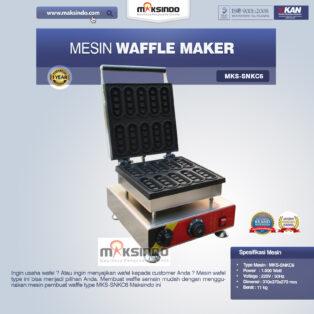 Jual Mesin Waffle Maker MKS-SNKC6 di Palembang