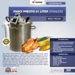 Jual Panci Presto 51 Liter Stainless (PRC50) di Palembang