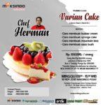 Training Usaha Varian Cake, 18 november 2018