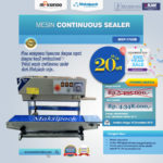 Jual Mesin Continuous Band Sealer MSP-770IIB di Palembang