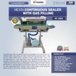 Jual Mesin Continuous Sealer With Gas (Band Sealer) di Palembang