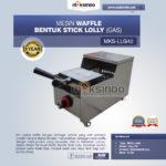Jual Mesin Waffle Bentuk Stick Lolly (Gas) MKS-LLG40 di Palembang