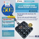 Jual Alat Cetakan Sate Telur Puyuh 16 Hole Ardin TYK-16 di Palembang