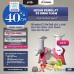 Jual Mesin Es Krim Buah Rumah Tangga di Palembang