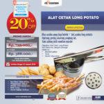 Jual Alat Cetak Long Potato MKS-LPCT30 di Palembang