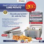 Jual Paket Mesin Long Potato Kentang Panjang di Palembang