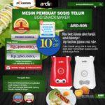 Jual Mesin Sosis Telur 2 Lubang ARDIN ARD-505 di Palembang