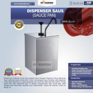 Jual Dispenser Saus (Sauce Pan) SU-01 di Palembang