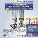 Jual Jus Dispenser Octagonal 2 Tabung (DSP32) di Palembang