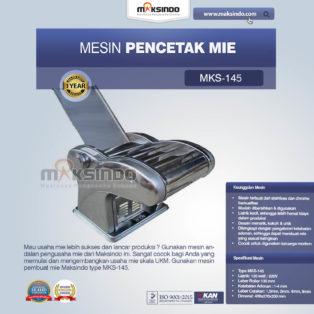 Jual Mesin Cetak Mie (MKS-145)  di Palembang