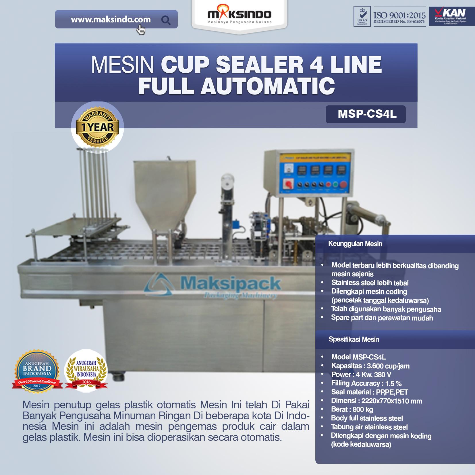 Jual Mesin Cup Sealer Otomatis di Palembang