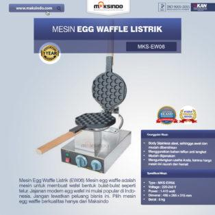 Jual Mesin Egg Waffle Listrik (EW06) di Palembang