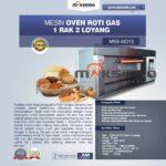 Jual Mesin Oven Gas 2 Loyang (MKS-GO12) di Palembang