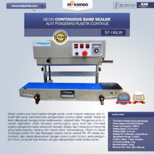 Jual Mesin Continuous Band Sealer di Palembang