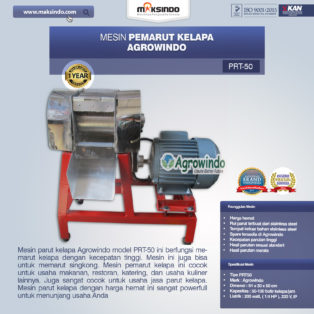 Jual Mesin Pemarut Kapasitas Besar di Palembang