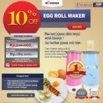 Jual Egg Roll Maker (ARD-303) di Palembang