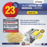 Jual Cetakan Mie Manual Rumah Tangga ARDIN di Palembang