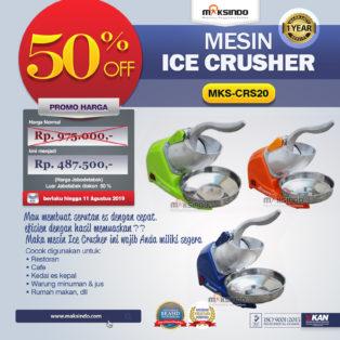 Jual Mesin Ice Crusher MKS-CRS20 di Palembang