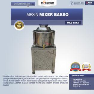 Jual Mesin Mixer Bakso MKS-R16A, MKS-R23A di Palembang