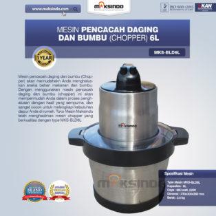 Jual Mesin Pencacah Daging Dan Bumbu MKS-BLD6L Di Palembang