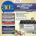 Mesin Pembuat Egg Roll (Listrik) di Palembang