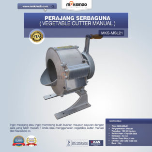 Jual Perajang Serbaguna (Vegetable Cutter Manual) MKS-MSL21 Di Palembang