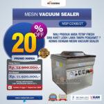 Jual Vacuum Sealer MSP-DZ400/2T di Palembang