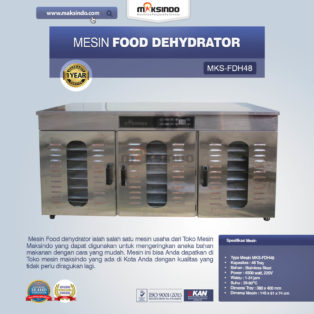 Jual Food DehydratorMKS-FDH48 di Palembang