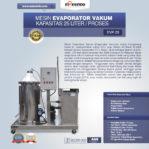 Jual Mesin Evaporator Vakum di Palembang