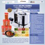 Jual Mesin Universal Fritter 6 liter (VGC6) di Palembang