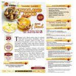 Training Sukses Thailand Food Untuk Usaha, Sabtu, 26 Oktober 2019