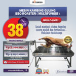 Jual Mesin Kambing Guling BBQ Roaster (GRILLO-LMB11) di Palembang