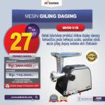 Jual Mesin Giling Daging (Meat Grinder) MHW-G51B di Palembang