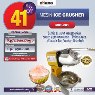Jual Mesin Es Serut (Ice Crusher MKS-003) di Palembang