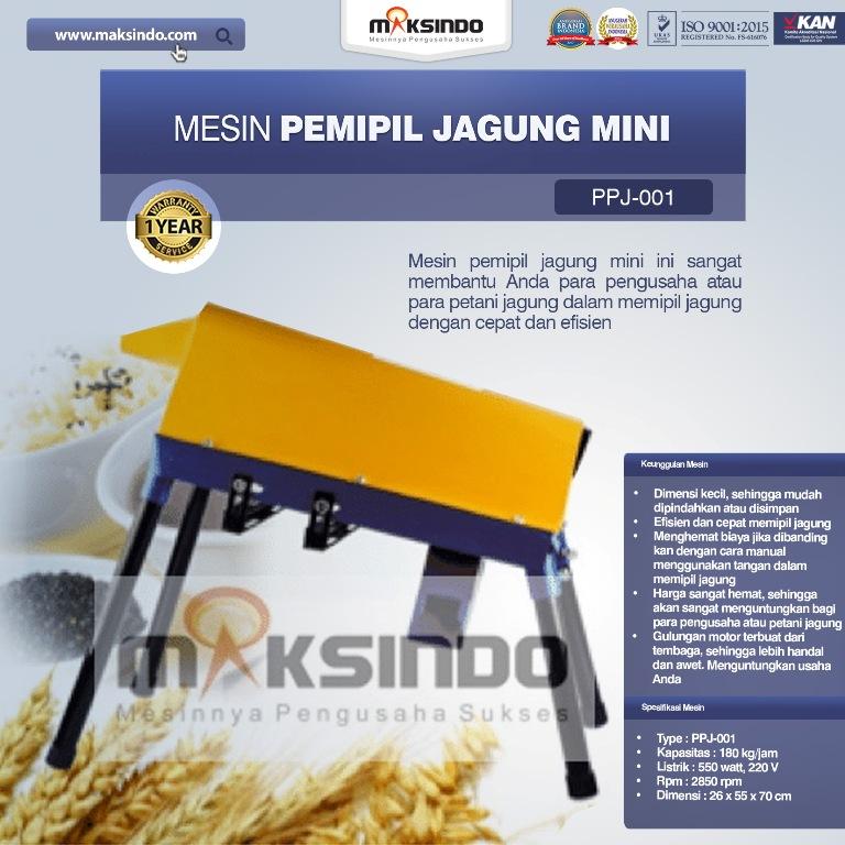 Jual Mesin Pemipil Jagung Mini Harga Hemat di Palembang