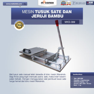 Jual Alat Tusuk Sate ManualMKS-099 di Palembang