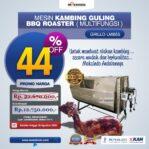 Jual Jual Mesin Kambing Guling Double Location Roaster (GRILLO-LMB55) di Palembang