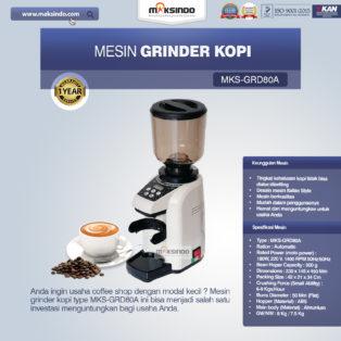 Jual Mesin Grinder Kopi (MKS-GRD80A) di Palembang